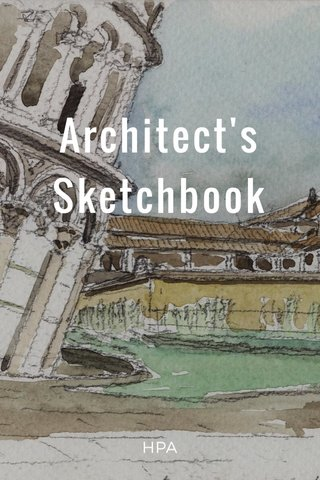 Architect's Sketchbook HPA