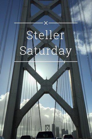 Steller Saturday