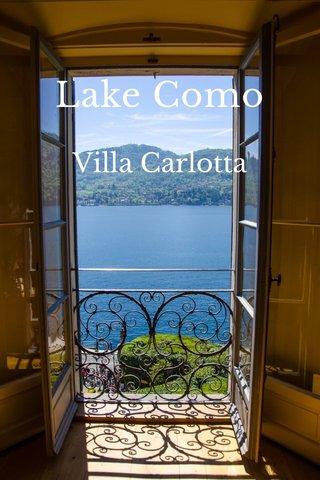 Lake Como Villa Carlotta