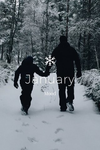 January Mood
