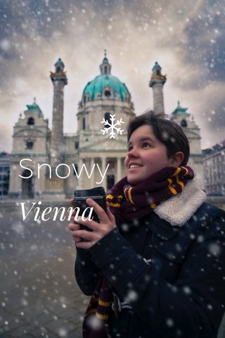 Snowy Vienna