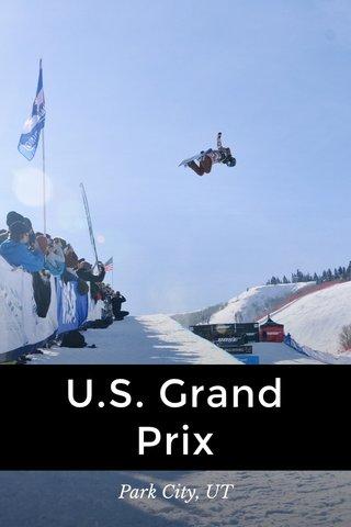 U.S. Grand Prix Park City, UT