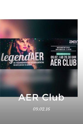 AER Club 09.02.16