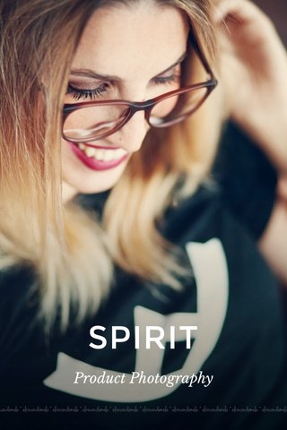 SPIRIT Product Photography