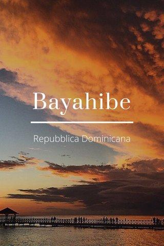 Bayahibe Repubblica Dominicana