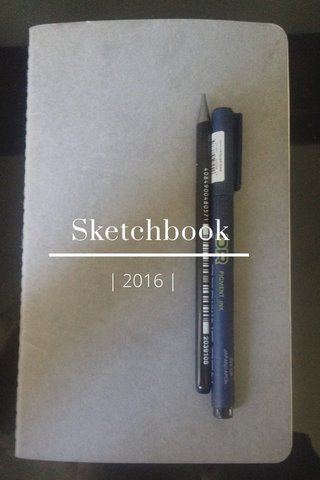 Sketchbook | 2016 |
