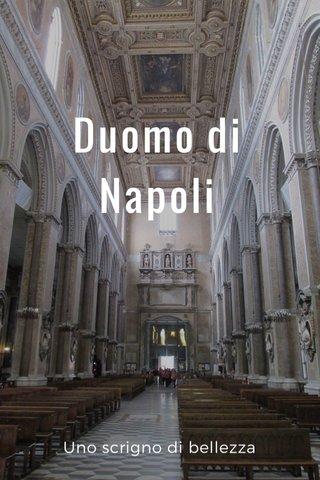 Duomo di Napoli Uno scrigno di bellezza