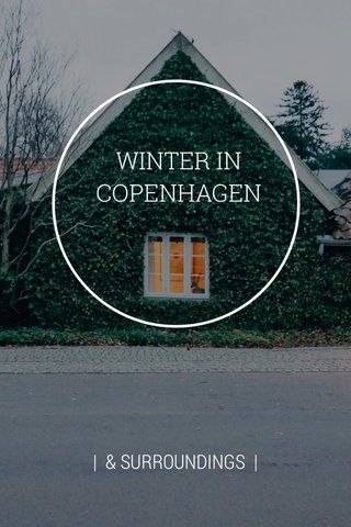 WINTER IN COPENHAGEN | & SURROUNDINGS |