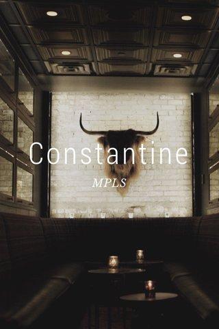 Constantine MPLS