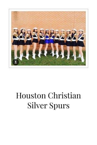 Houston Christian Silver Spurs