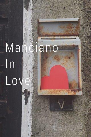 Manciano In Love