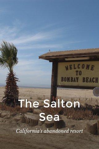The Salton Sea California's abandoned resort