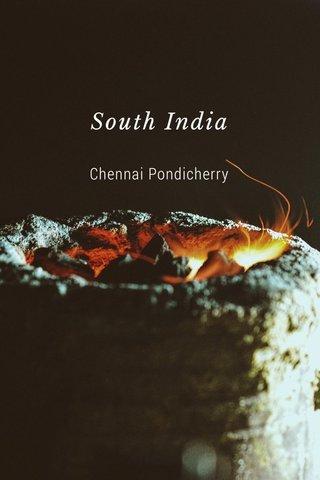 South India Chennai Pondicherry