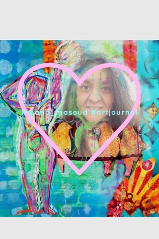 #maha_masoud #artjournal