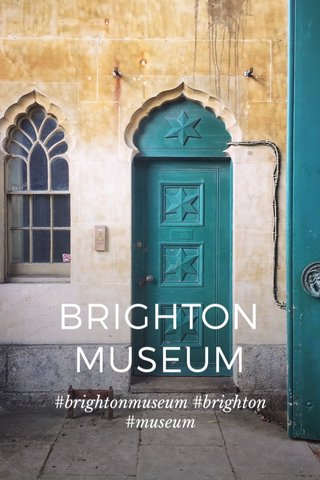 BRIGHTON MUSEUM #brightonmuseum #brighton #museum