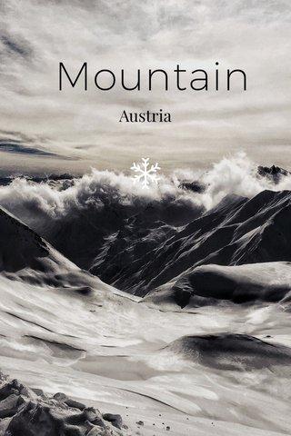 Mountain Austria