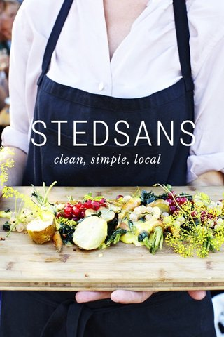STEDSANS clean, simple, local