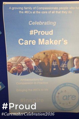 #Proud #CaremakerCelebration2016