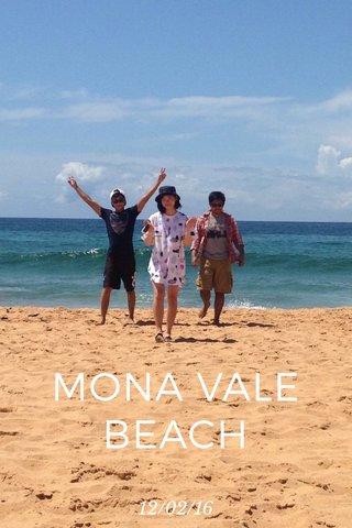 MONA VALE BEACH 12/02/16