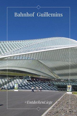 Bahnhof Guillemins #EntdeckenLiege
