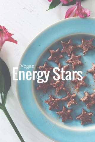Energy Stars Vegan