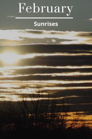February Sunrises