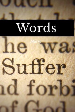Words Macro