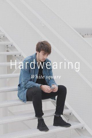 Hardwearing White square