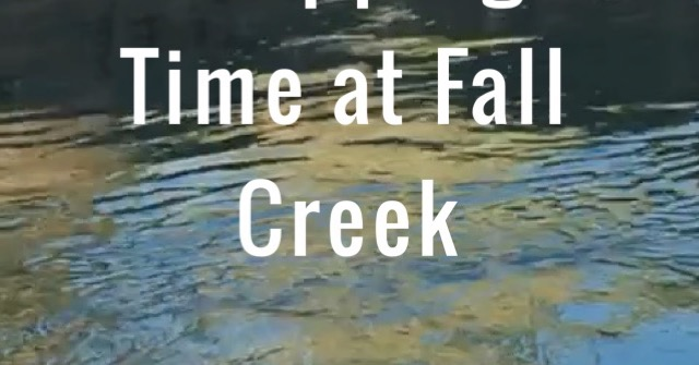 Stopping Time at Fall Creek A Singular Place