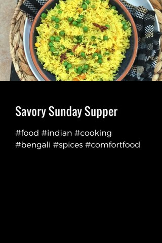 Savory Sunday Supper