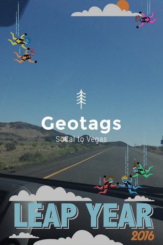 Geotags SoCal to Vegas