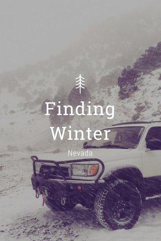 Finding Winter Nevada