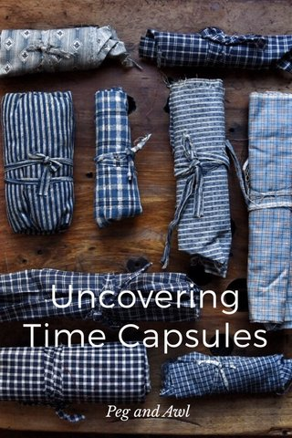 Uncovering Time Capsules Peg and Awl