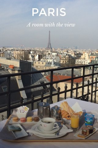PARIS A room with the view