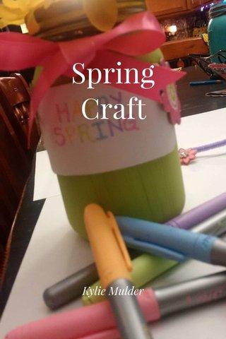 Spring Craft Kylie Mulder