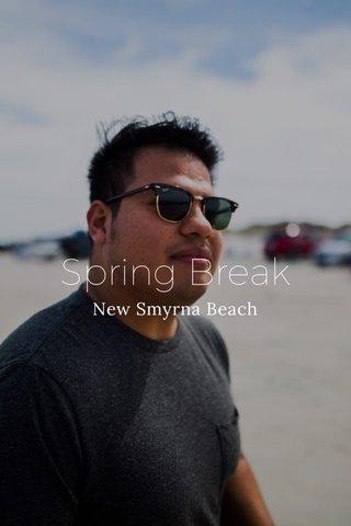 Spring Break New Smyrna Beach