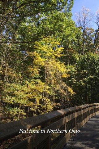 Fall time in Northern Ohio
