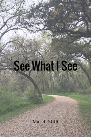 See What I See March 2016