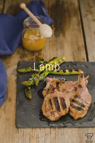 Lamb with Thyme honey