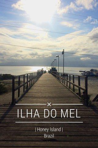 ILHA DO MEL | Honey Island | Brazil