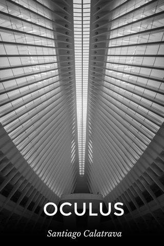 OCULUS Santiago Calatrava