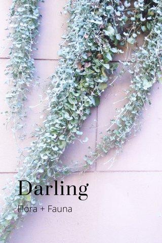 Darling Flora + Fauna