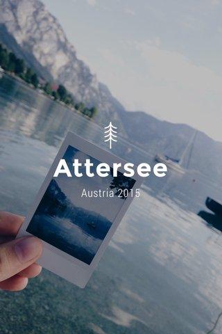 Attersee Austria 2015