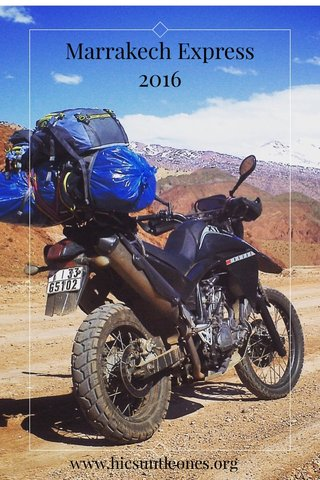 Marrakech Express 2016 www.hicsuntleones.org