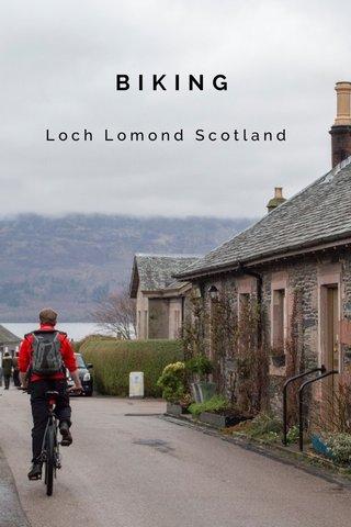 BIKING Loch Lomond Scotland