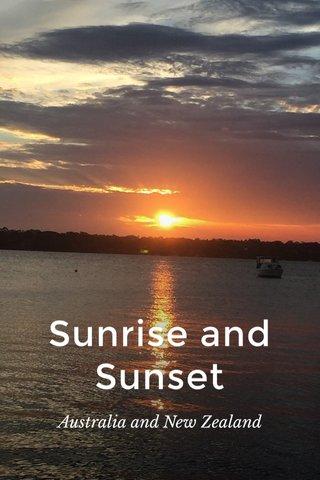 Sunrise and Sunset Australia and New Zealand