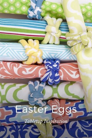 Easter Eggs Tabletop Inspiration
