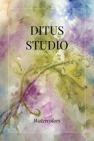 DITUS STUDIO Watercolors