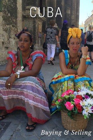 CUBA Buying & Selling