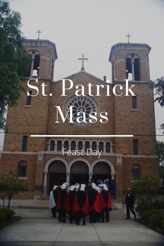 St. Patrick Mass Feast Day